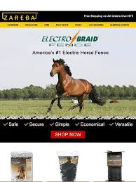 Zareba Official Site Electrobraid America S 1 Electric Horse Fence Milled
