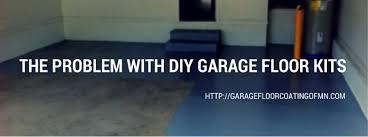 the problem with diy garage floor kits