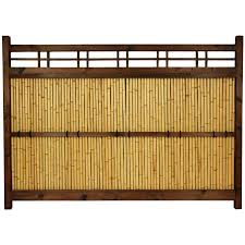 Red Lantern 4 Ft H X 5 Ft W Bamboo Fence Panel In The Wood Fence Panels Department At Lowes Com