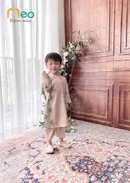 Áo dài bé trai - thêu rồng tinh xảo (size cho bé từ 1 - 5 tuổi) - Shop MEO Mũm  Mĩm