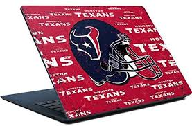 Amazon Com Skinit Decal Laptop Skin Compatible With Surface Laptop Officially Licensed Nfl Houston Texans Blast Design Electronics