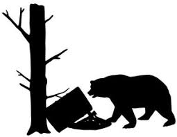 Bear Hunting Decal 3 Md Vinyl Truck Window Stickers Wildlife Decal