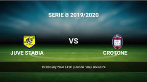 Juve Stabia vs Crotone H2H 15 feb 2020 ...