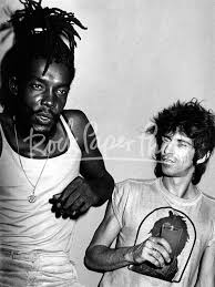 Peter Tosh & Keith Richards by Adrian Boot