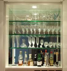 image result for mirrored bar shelves