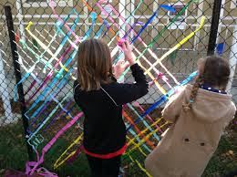 Lafayette Art With Laurie Miles Of Chain Link Fence Sounds Like A Blank Canvas To Me