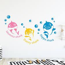 Baby Shark Wall Decal Noteys Com
