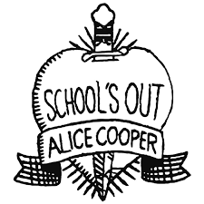 Alice Cooper Schools Out Decal Sticker