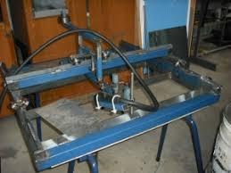 homemade plasma cutting table