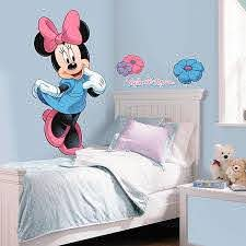 Disney Mickey And Friends Minnie Mouse Giant Peel And Stick Wall Decals Bed Bath Beyond