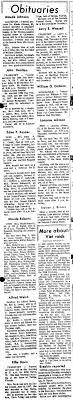 Effie Davis Indiana funeral announcement - Newspapers.com