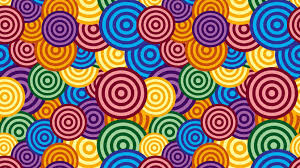 Photoshop for Lunch™ - Overlapping and Random Circles Patterns ...