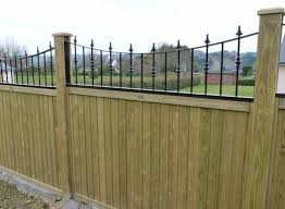 Railing Fence Panel Toppers Fence Railing Tops Jacksons Fencing