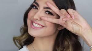 natural radiant prom makeup tutorial
