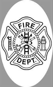 4 X 6 Fire Department Decal Static Cling Window Film World