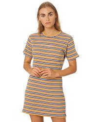 rpm ribbed dress mustard surfsch