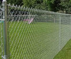 Chain Link Steel Perimeter Fence Panel