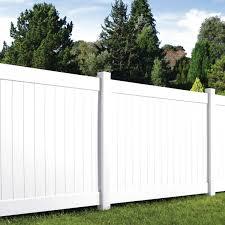 White Vinyl Fence For Sale Only 3 Left At 75