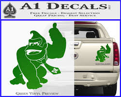 Donkey Kong Full Body Sxc Decal Sticker A1 Decals