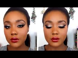 light makeup tutorial for dark skin