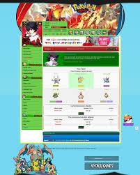Pokemon] Pokemon-RPG Browser Game - RaGEZONE - MMO development ...