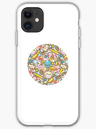 Kawaii Circle Of Cute Things Sticker Iphone Case Cover By Susurrationstud Redbubble