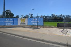 Fences Down Signs Up Lines Marked Werribee Football Club Facebook