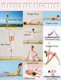 The Essential Yoga Poses for Beginners | Easy yoga poses, Workout ...