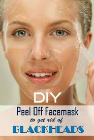 diy l off mask to get rid of blackheads