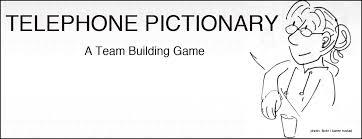 activity telephone pictionary