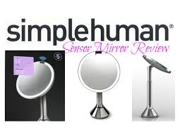 sensor mirror by simplehuman review a