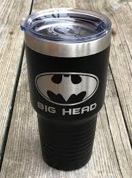Batman Gift Custom Batman Tumbler Super Hero Tumbler Insulated Mug Custom Travel Mug Personalized Travel Mug Personalized Batman Gift