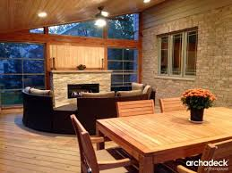 outdoor fireplace archadeck outdoor