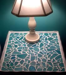stunning sea glass mosaic diy ideas