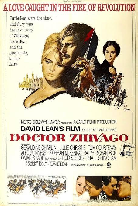 """Resultado de imagen para doctor zhivago pelicula 1965"""""""