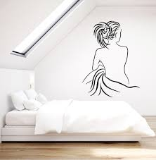 Vinyl Wall Decal Female Back Sexy Naked Girl Woman Bedroom Decor Stick Wallstickers4you