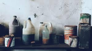 how to get rid of kerosene smell
