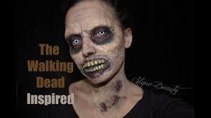 walking dead zombie makeup time lapse