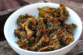 the best cheesy kale chips eating