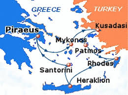 travel in greece with dolphin as