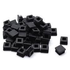 1 Inch Square Tubing End Cap Plug Black Plastic Fence Post Pipe Cover Insert Chair Leg Glide Pack Of 50 Shopee Philippines