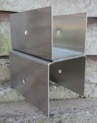 Fence Panel Brackets Stainless Steel X6 Original Design Eur 31 51 Picclick Fr