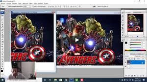 Como Hacer Una Invitacion De Avengers Para Cumpleanos Con