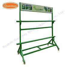 metal garden grass storage rack