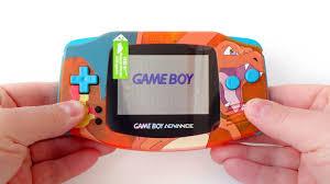 Pokemon Charizard 2 0 Gba Backlight Nintendo Game Boy Advance Youtube