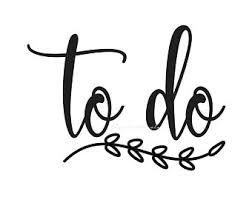 To Do List Decal Etsy