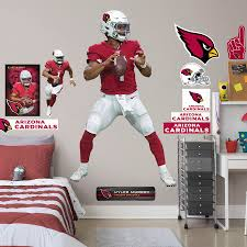 Arizona Cardinals Kyler Murray Fathead 12 Pack Life Size Removable Wall Decal