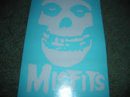 Buy White Misfits Decal Window Sticker Window Decal 7 5in X 5in Or Ur Choice Color Motorcycle In Solsberry Indiana Us For Us 2 99