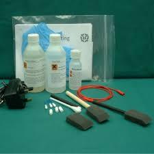 silver brush plating kit
