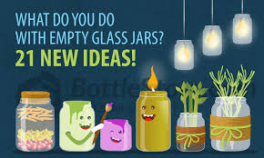 what do you do with empty glass jars